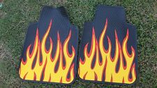 Flame Car Truck Auto Floor Mats