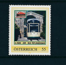 16.person.Marke des  BSV-Linzer Eisenbahn-Verein, Neue Pöstlingbergbahn, 1/5/15