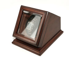 Bombay New Automatic Watch Winder Rotater Box Wood Finish Brown