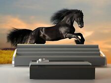 Horse Gallops  Wall Mural Photo Wallpaper GIANT WALL DECOR Paper Poster