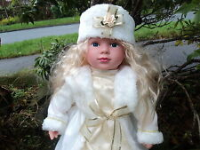 Swedish White Large 58cm Baby Doll Girl Doll Cute Real Life Looking Blonde Hair