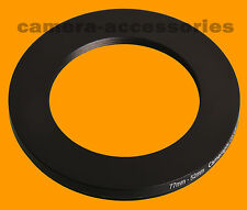 77mm to 52mm 77-52 Stepping Step Down Filter Ring Adapter 77-52mm 77mm-52mm
