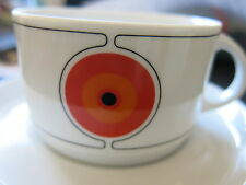 Vintage retro Eames era Thomas cup and saucer 70's Germany .,..