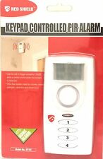 RED SHIELD ST-02 KEYPAD CONTROLLED PIR MOTION SENSOR SECURITY ALARM