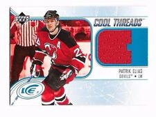 2005-06 Upper Deck Ice Cool Threads Patrik Elias