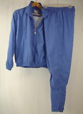 BOLLE SPORT Women's Athletic Wear Blue Track Sweat Suit M Train Run Yoga