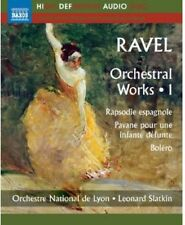 Ravel: Orchestral Works Vol. 1 (2012, Blu-ray New) BLU-RAY Audio