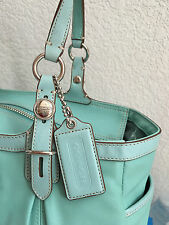 Coach Purse Handbag Brand New with Tags Mint Green Satchel NWT Shoulder Bag