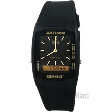 Casio AQ47-1E Mens Casual Classic Analog & Digital Water Resistant Watch - Black