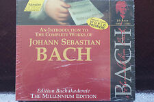 Bach Complete Introduction Cd with Book 16 Tracks Sealed MINT hanslerr edition