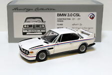1:18 Minichamps bmw 3.0 CSL White Heritage Collection New en Premium-modelcars
