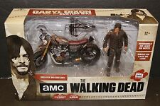 WALKING DEAD DARYL DIXON with CUSTOM BIKE DELUXE BOXED SET **Factory Sealed**