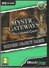MYSTIC GATEWAYS: THE CELESTIAL QUEST Hidden Object PC Game NEW