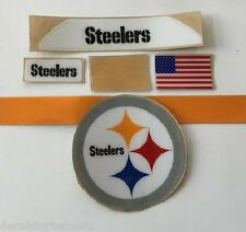 Pittsburg Steelers F/S-Football Helmet DECALS/COMPLETE SET WITH SIDE AND EXTRAS