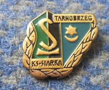 SIARKA TARNOBRZEG POLAND FOOTBALL FUSSBALL SOCCER  BASKETBALL 1970's PIN BADGE