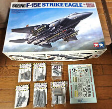 1/32 F-15E TAMIYA + CUTTING EDGE EXHAUST, UPDATE, LANTIRN, ACES II 2000K + DECAL