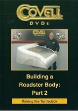 Building a Roadster Body Part 2 - Making the Turtledeck with Ron Covell (DVD)