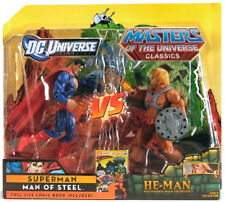 "DCU vs. MOTUC_SUPERMAN vs HE-MAN 6"" figures_Exclusive Limited Edition_2 Pack_MIP"