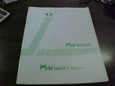 Kawasaki JS 650 A1 Owner's Manual