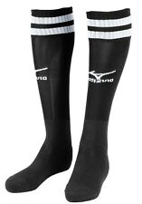 [Mizuno] Men's Soccer Socks Black/White Football Socks (500109) - 1 pair