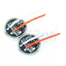 2 x Practical 20mm LED Driver Circuit Board For Flashlight CREE T6 5-Mode DG