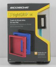 iPod Scosche IS3D Soft Silicone Case Cover n6 Set of 3 NEW IN BOX