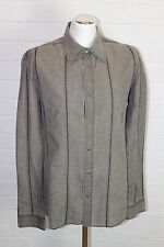 DIESEL Mens Long Sleeve Popper Fasten ROLLER Striped SHIRT - Size XL Extra Large
