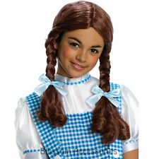 W242 Licensed Dorothy Wizard of Oz Child Girls Fancy Dress Costume Wig