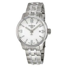 Tissot PRC 200 White Dial Stainless Steel Mens Watch T0554101101700