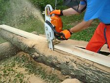Haddon Lumbermaker Chainsaw Mill Made In USA Cut Tree Falls Chain Saw Boards new