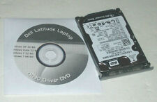 "Dell Latitude D630 160GB 2.5"" SATA Hard Drive 7200rpm with Caddy and Driver DVD"