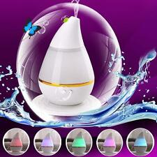 7 LED USB Ultrason Humidificateur Purificateur Fumet Diffuseur Air Brume