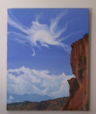 """Red Rock Colorado""- Original oil painting by Molinda Sunde' Parker - 24"" X 30"""