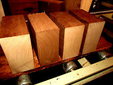 FOUR KILN DRIED WALNUT BOWL BLANKS LATHE TURNING BLOCK WOOD 6 X 6 X 3""