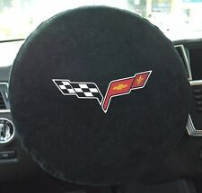 C6 Corvette Embroidered Steering Wheel Cover / Towel