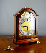 Georgian Style Bracket Mantel Clock by St James Franz Hermle Westminster Chiming