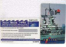 Coca-Cola - FLEET WEEK 1995 - OFFICIAL PHONECARD-SAN FRANCISCO-PUZZLE 1di 3