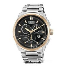 * NEW CITIZEN ECO-DRIVE WATCH for MEN * Perpetual Calendar * Alarm * BL5486-57E