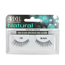 2 Pairs x Ardell Natural Lashes #116 False Eyelashes Fake Lash Eyelash Black
