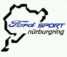 Pegatina Adhesivo Circuito Nurburgring 14 cms todas las marcas o modelos.