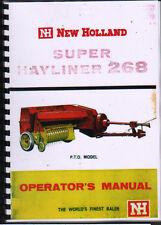 New Holland 273 Baler specs br750 round baler Manual