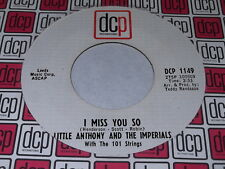 Little Anthony And The Imperials: I Miss You So / Get Out Of My Life 45