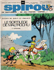 SPIROU N°    1641 COUVERTURE   /  VELO SOLEX  FLASH BE