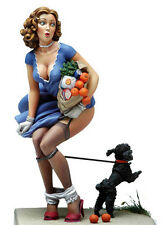 Andrea Miniatures Black Doggy 80mm Pin-up Model unpainted kit