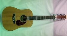 Martin D12X1AE 12 string acoustic/electric guitar w/case