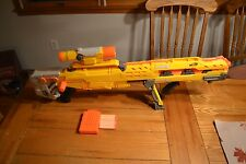 NERF Longshot CS-6 Yellow Version – Complete w/ Detachable Front Pistol, Scope
