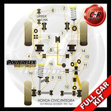 Honda Civic Hatch EG4, EG5 & EG6 (92-96) Powerflex Black Complete Bush Kit