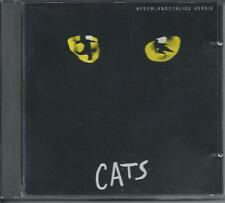 CATS - Nederlandstalige Versie (DUTCH CAST) CD 16TR WEST GERMANY 1987 MERCURY