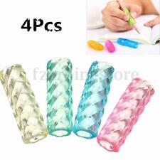 4 Pcs Soft Ridged Gel Pen Pencil Right and Left Handed Handwriting Grips