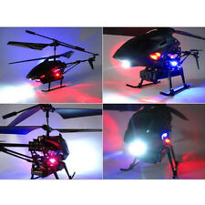 S977 3.5CH Radio Remote Control Metal Gyro RC Helicopter W Camera Black Airplane